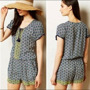 Anthropologie Lilka Long Weekend romper